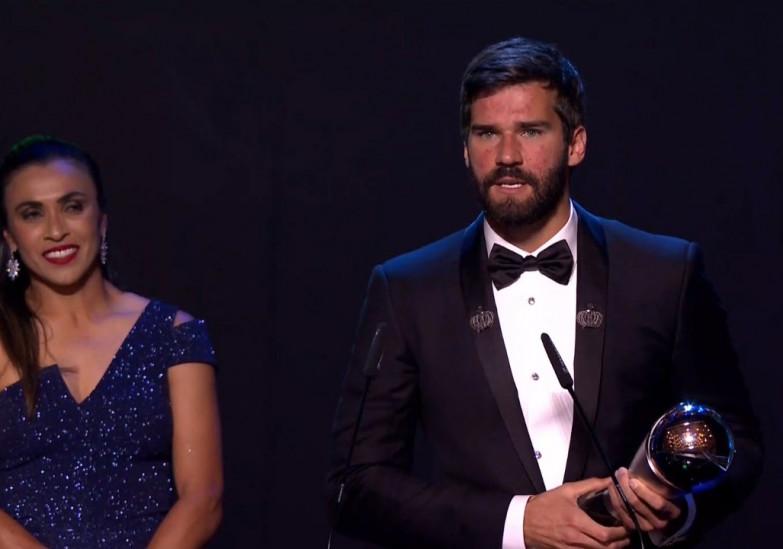 Ալիսոն Բեկերը՝ FIFA-ի վարկածով տարվա լավագույն դարպասապահ