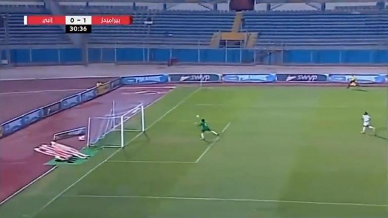 Բոլտի արագություն և վոլեյբոլային հնարք. Եգիպտացի դարպասապահի ֆանտաստիկ սեյվը (տեսանյութ)
