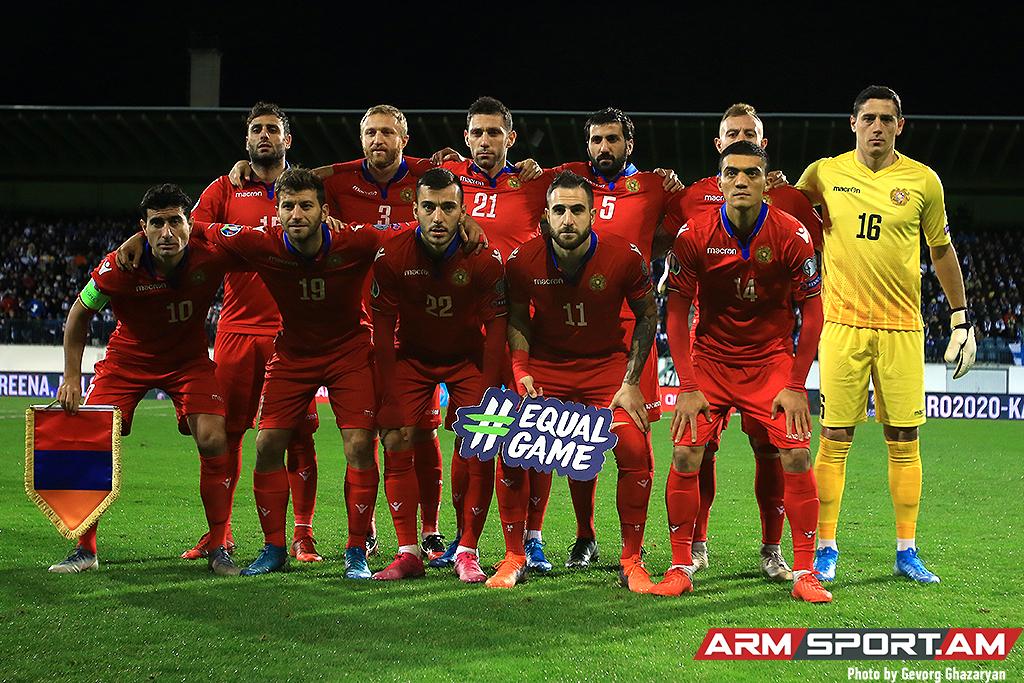 ՖԻՖԱ-ի աղյուսակ. Հայաստանի հավաքականը նահանջել է