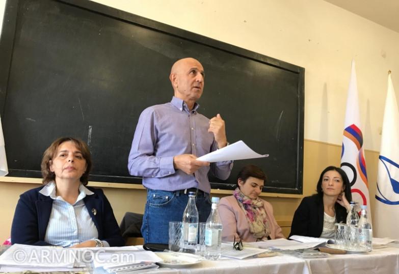 ՀԱՕԿ-ը Գյումրիում «Կանայք և սպորտը» թեմայով սեմինար է անցկացրել