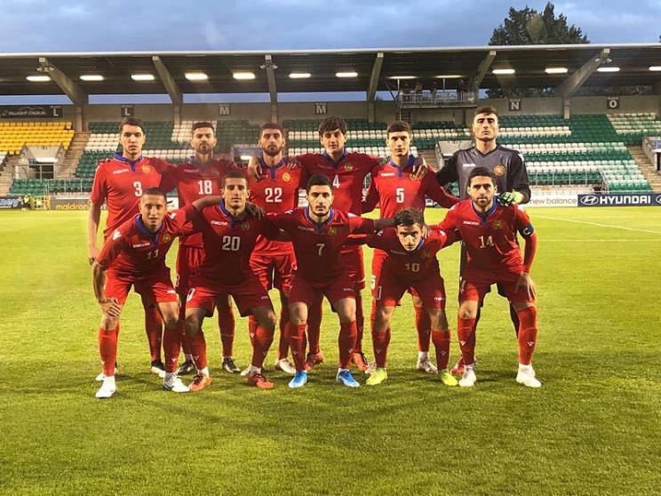 Եվրո-2021. Հայաստանի երիտասարդական հավաքականի մեկնարկային կազմը Լյուքսեմբուրգի հետ խաղում