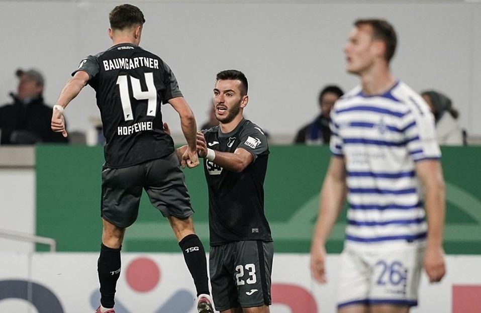 Սարգիս Ադամյանի գոլը նպաստեց Հոֆենհայմի հաղթանակին Գերմանիայի գավաթի խաղում