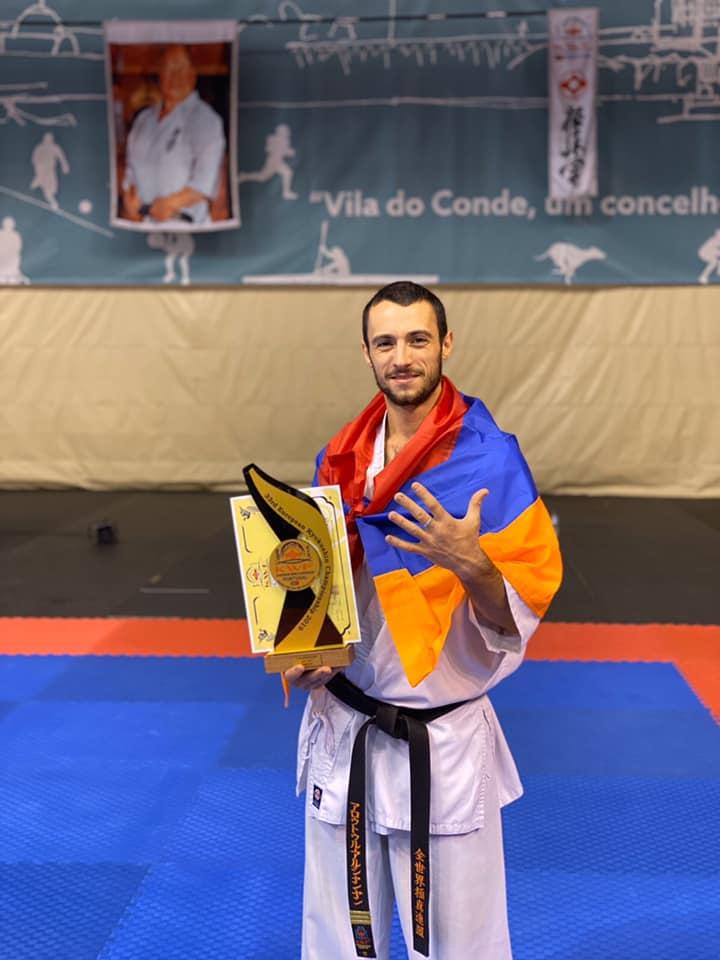 На ЧЕ армянские спортсмены завоевали 3 золотые медали