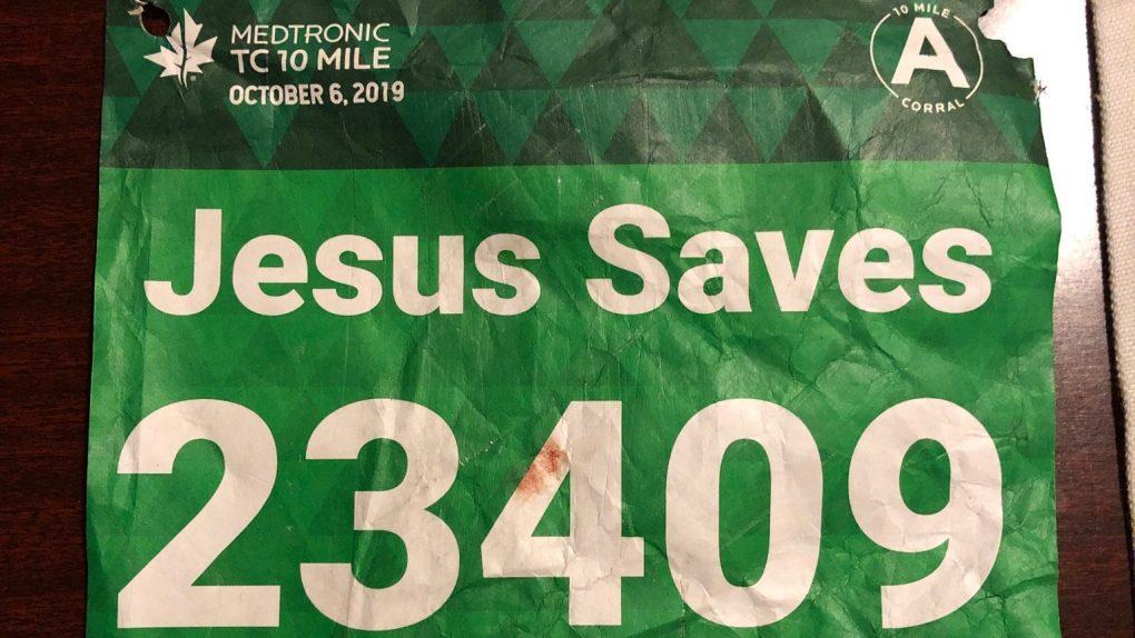 ԱՄՆ-ում «Հիսուսը փրկում է» գրությամբ շապիկով վազորդը սրտի կաթված է ստացել. նրան փրկել է Հիսուս անունով տղամարդը