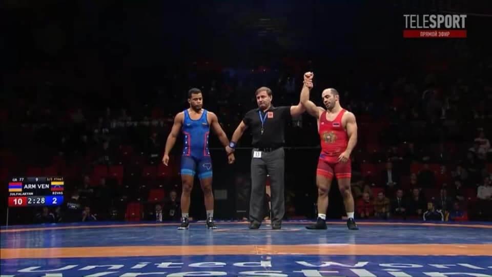 Գրան-Պրի Մոսկվա. Ջուլֆալակյանը հաղթել է վենեսուելացուն
