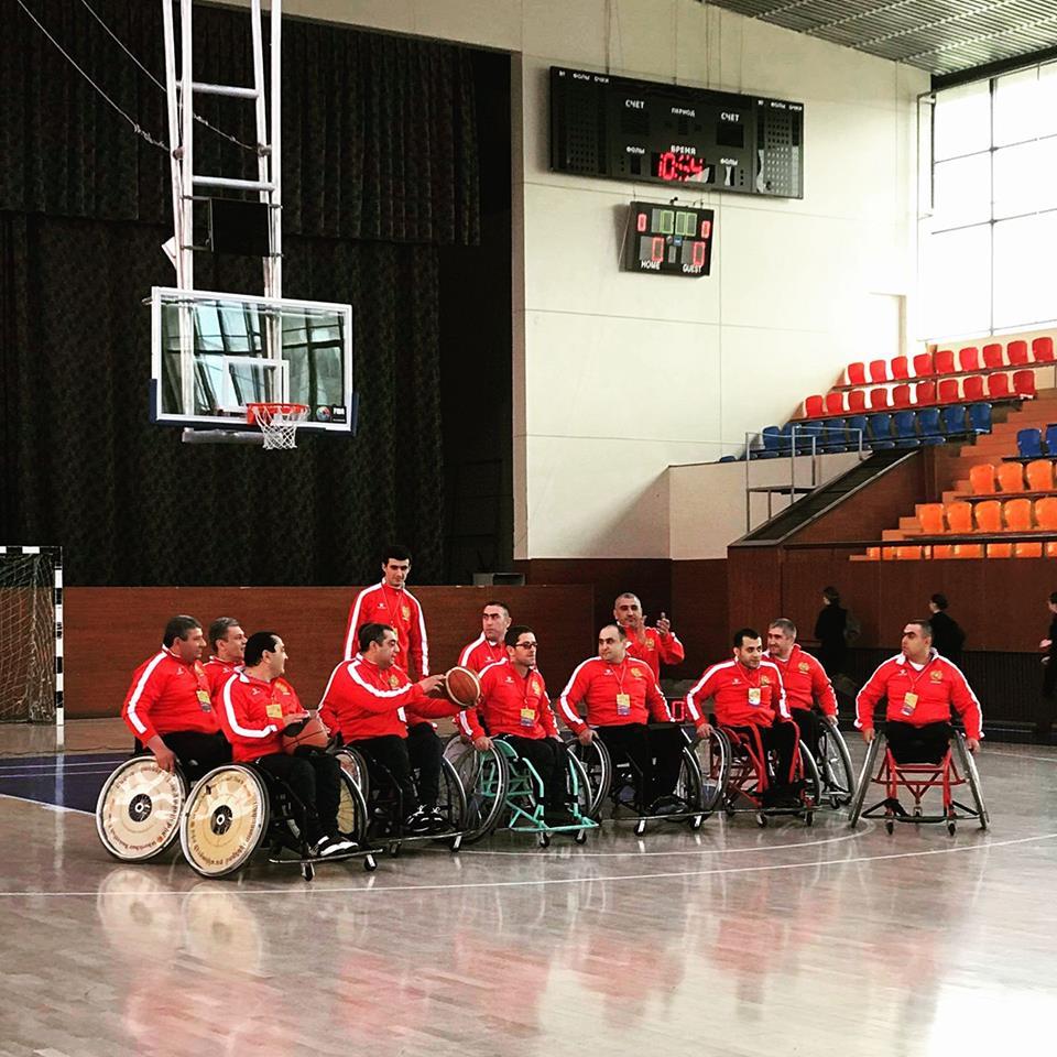 Հայաստանում կանցկացվի անվասայլակով բասկետբոլի միջազգային մրցաշար