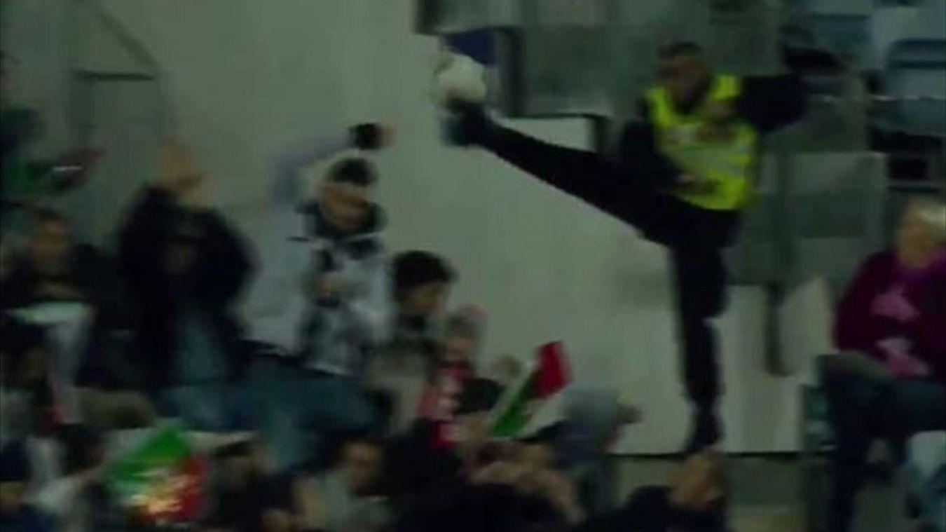 Կարգադրիչի ֆանտաստիկ ռեակցիան Ռոնալդուի հուժկու հարվածից հետո (տեսանյութ)