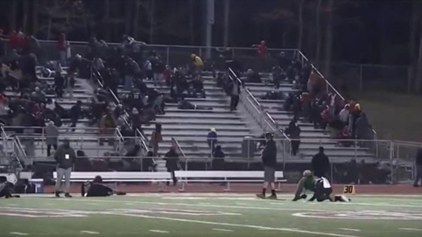 Անհայտ անձը կրակ է բացել ամերիկյան ֆուտբոլի խաղի ժամանակ և վիրավորել երեխայի (տեսանյութ)