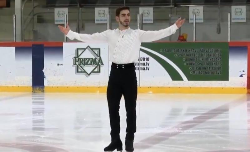 Tallinn Trophy. Սլավիկ Հայրապետյանը 7-րդն է կարճ ծրագրից հետո