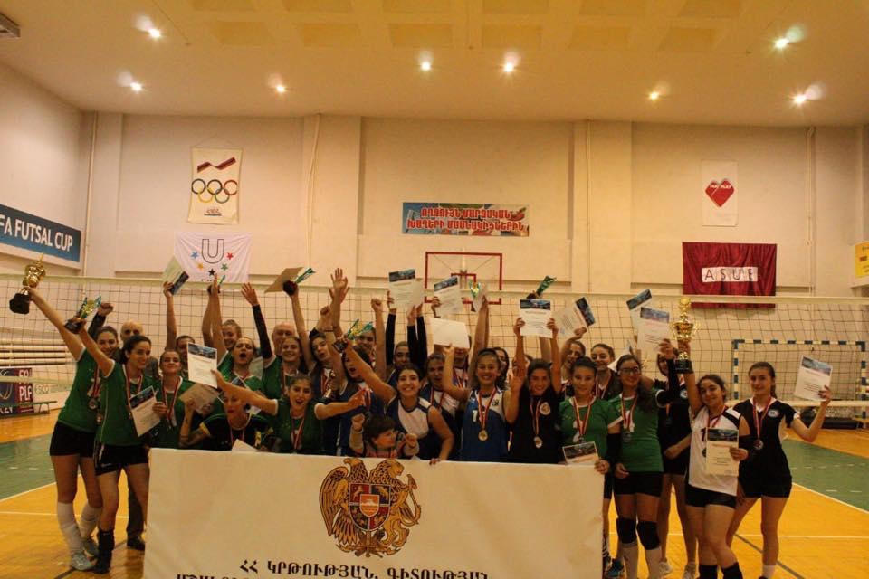 ԽՄՕՄՄ-ը` 4-րդ անգամ վոլեյբոլի Հայաստանի կանանց առաջնության չեմպիոն