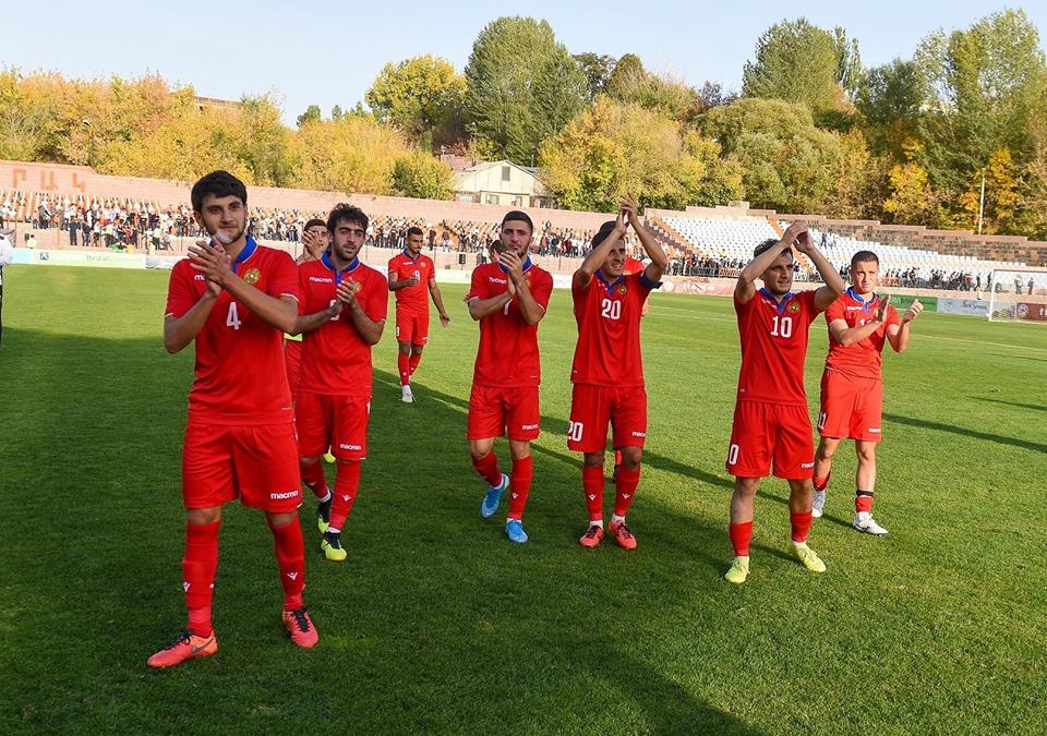 Հայաստանի Մ21 հավաքականի մեկնարկային կազմը Իտալիայի հետ խաղում