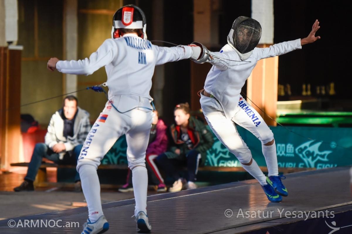 Խոստումնալից մարզիկներ. Երևանում անցկացվում է սուսերամարտի միջազգային մրցաշար