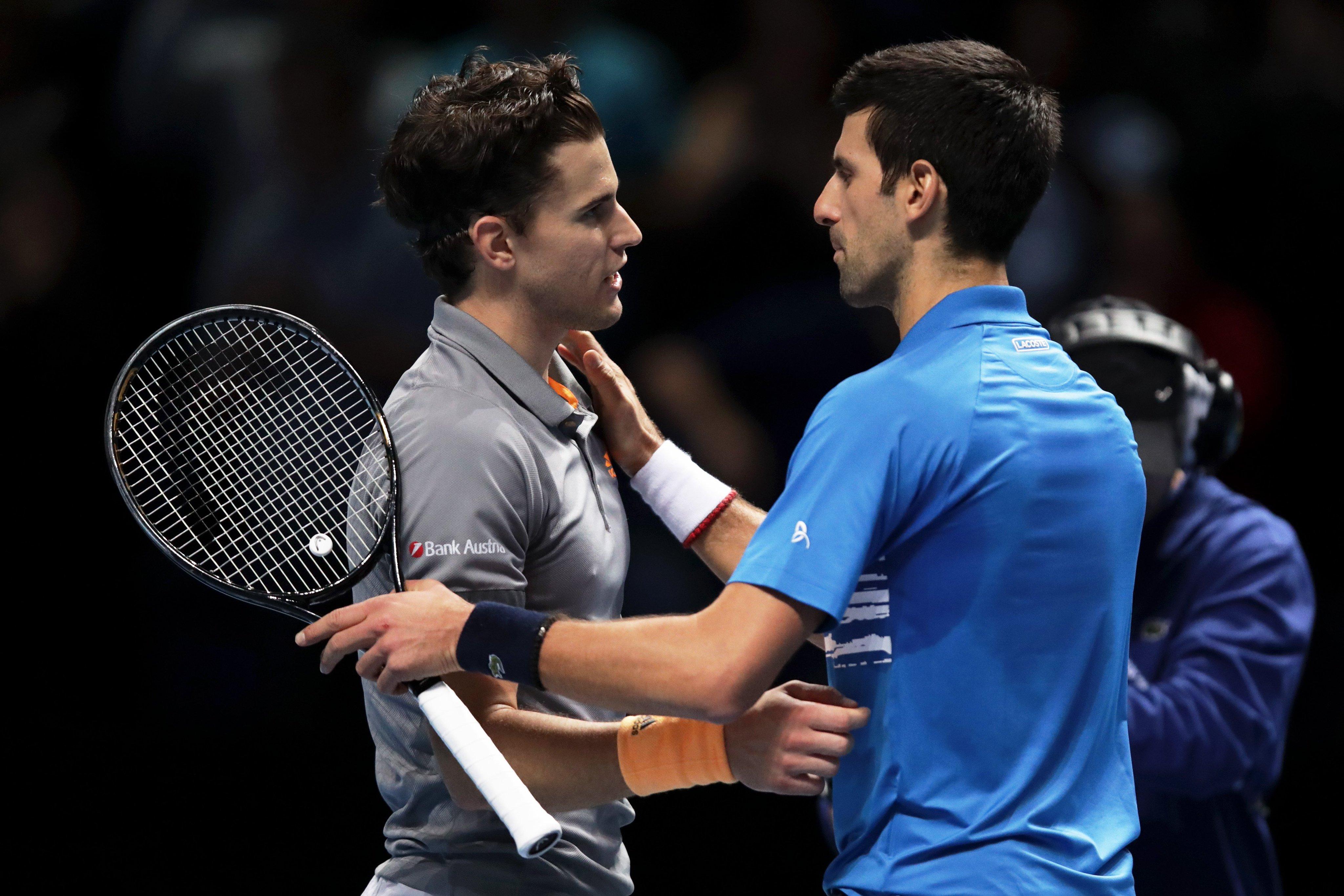 ATP-ամփոփիչ մրցաշար․ Տիմը գերդրամատիկ պայքարում հաղթեց Ջոկովիչին ու նվաճեց կիսաեզրափակչի ուղեգիր