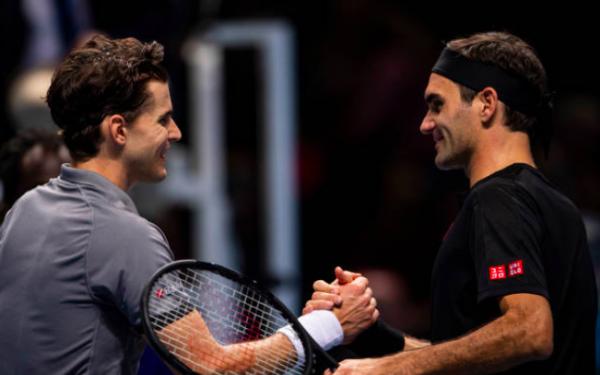 ATP Ամփոփիչ մրցաշար. Տիմը մեկնարկում հաղթել է Ֆեդերերին