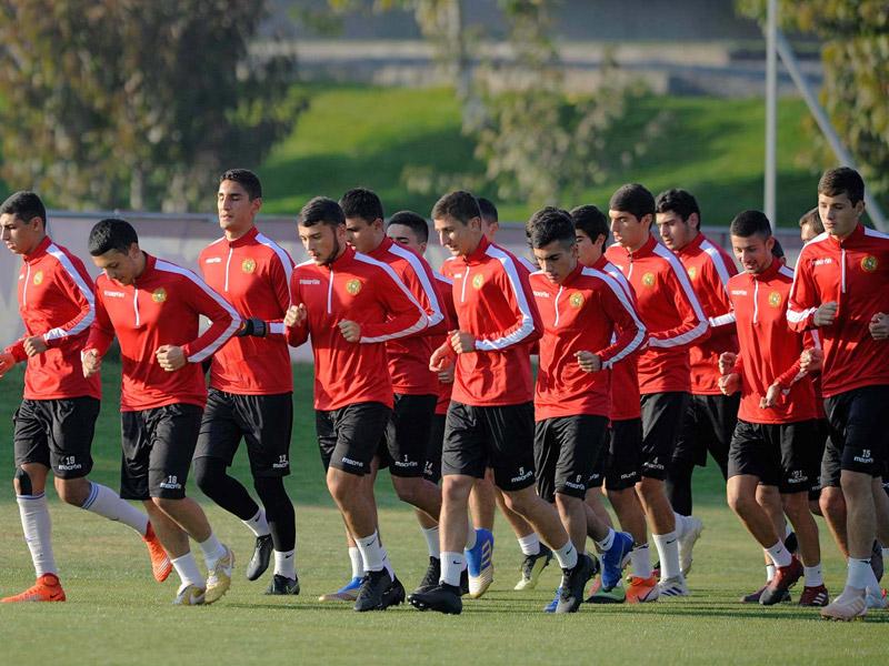 Հայաստանի Մ-19 հավաքականը սկսեց մարզական հավաքը