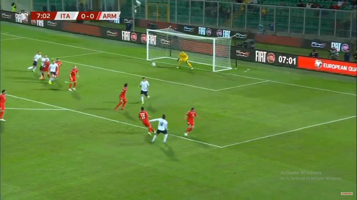 Իտալիան արդեն հաղթում է 4 գնդակի առավելությամբ (տեսանյութ)