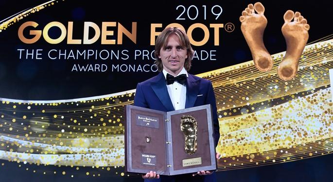 Մոդրիչը շրջանցել է Մեսսիին ու Ռոնալդուին և ստացել Golden Foot մրցանակը