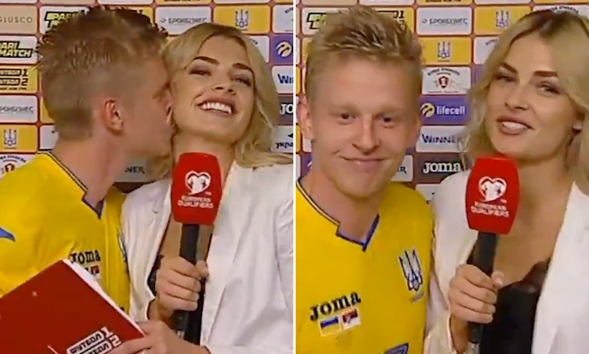 Վլադան չէր հավատում, որ նման բան կանեմ. Զինչենկով` լրագրողին համբուրելու մասին