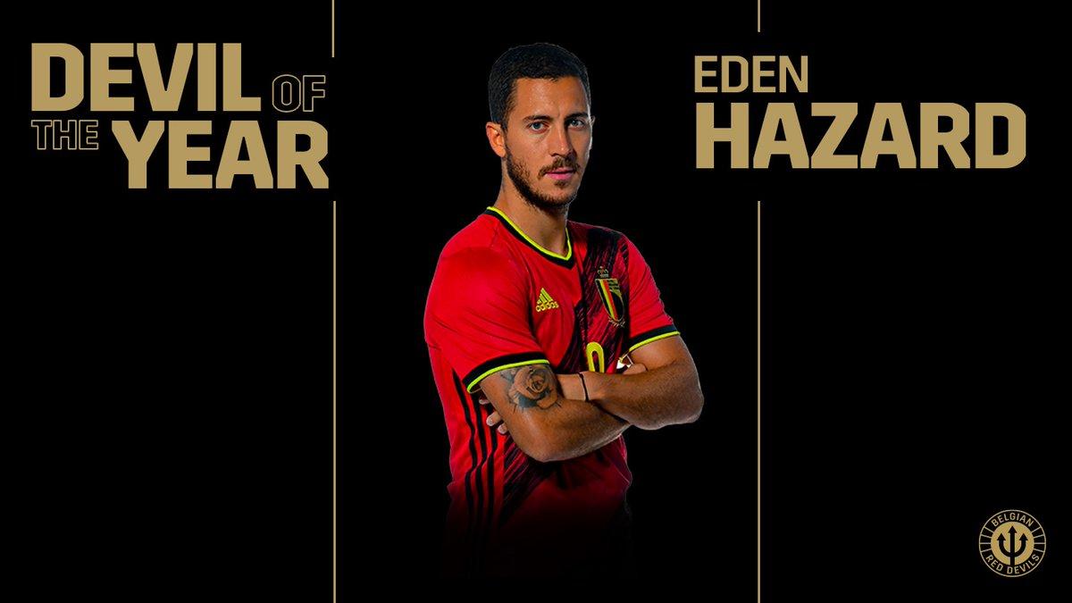 Էդեն Ազարը՝ Բելգիայի հավաքականի 2019 թվականի լավագույն ֆուտբոլիստ