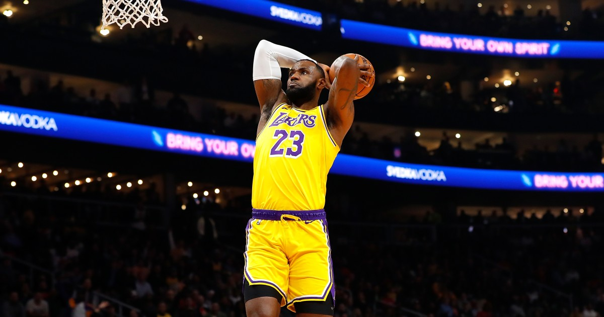 NBA. Լեյքերսը հաղթեց 7-րդ անընդմեջ խաղում (🎥)