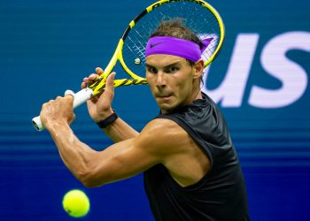 RAFAEL NADAL (ESP)  TENNIS - THE US OPEN - USTA BILLIE JEAN KING TENNIS CENTRE - FLUSHING MEADOWS - NEW YORK CITY - NEW YORK - USA - ATP - WTA - ITF - GRAND SLAM - OPEN - NEW YORK - USA - 2019      © TENNIS PHOTO NETWORK