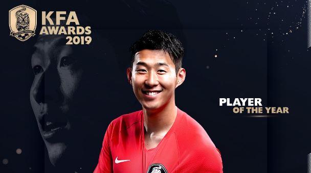 Սոնը՝ Հարավային Կորեայի տարվա լավագույն ֆուտբոլիստ
