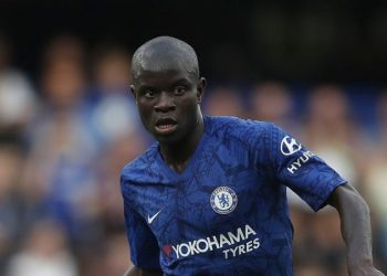 Chelsea's N'Golo Kante during their Premier League match against Leicester City at Stamford Bridge, London. Picture date: 18th August 2019. Picture credit should read: Simon Bellis/Sportimage via PA Images