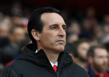 LONDON, ENGLAND - NOVEMBER 02: Unai Emery the Arsenal Head Coach before the Premier League match between Arsenal FC and Wolverhampton Wanderers at Emirates Stadium on November 02, 2019 in London, United Kingdom. (Photo by David Price/Arsenal FC via Getty Images)