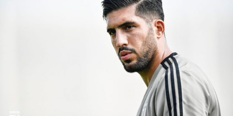 TURIN, ITALY - JULY 13:  Emre Can during a Juventus training session at Juventus Training Center on July 13, 2018 in Turin, Italy.  (Photo by Daniele Badolato - Juventus FC/Juventus FC via Getty Images)