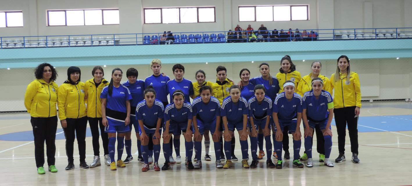 Գերխոշոր հաշիվներ Հայաստանի կանանց ֆուտզալի բաց առաջնությունում