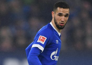 GELSENKIRCHEN, GERMANY - MARCH 02: Nabil Bentaleb of Schalke in action during the Bundesliga match between FC Schalke 04 and Fortuna Duesseldorf at Veltins-Arena on March 02, 2019 in Gelsenkirchen, Germany. (Photo by Stuart Franklin/Bongarts/Getty Images)