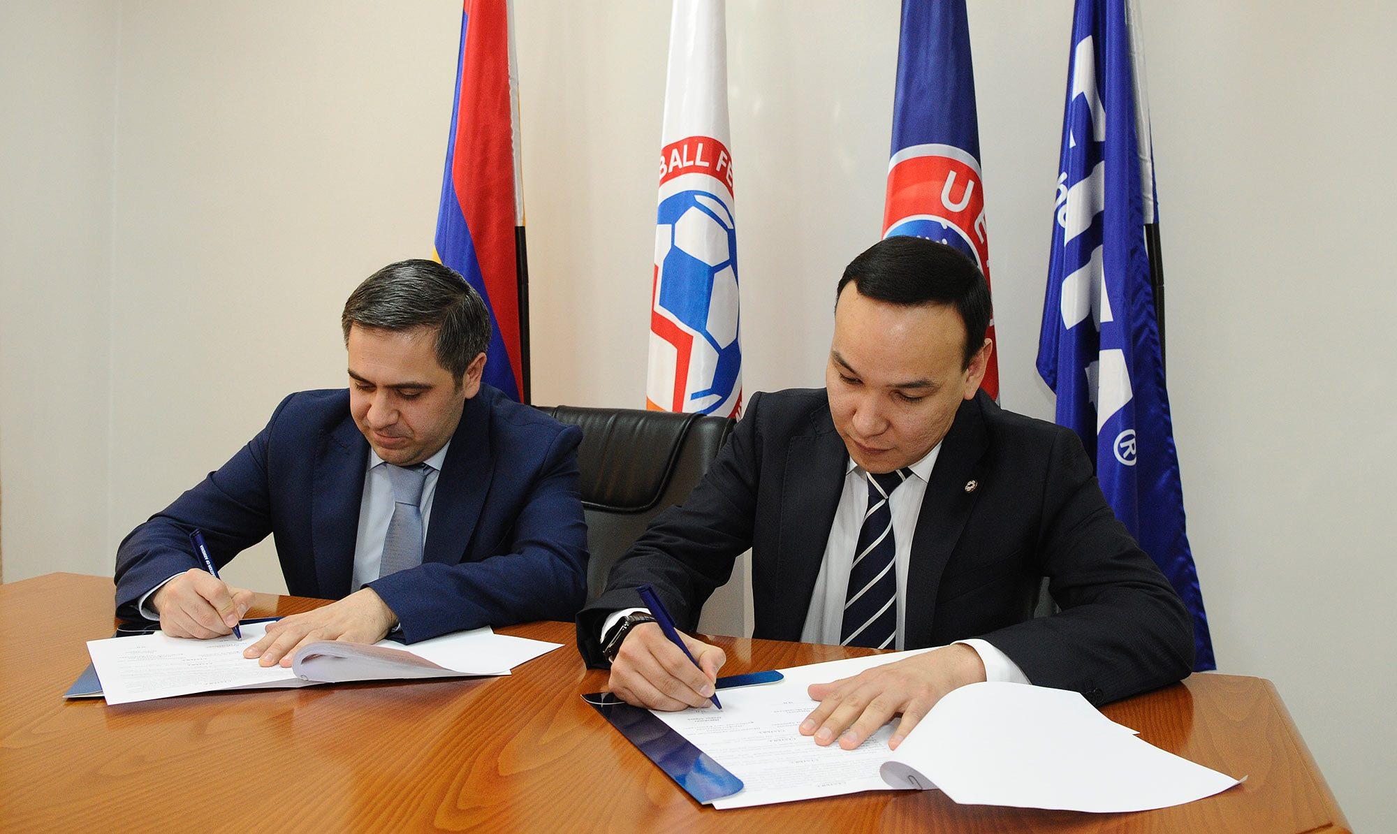 ՀՖՖ-ն համագործակցության հուշագիր ստորագրեց ԵՏՄ անդամ 3 երկրի հետ
