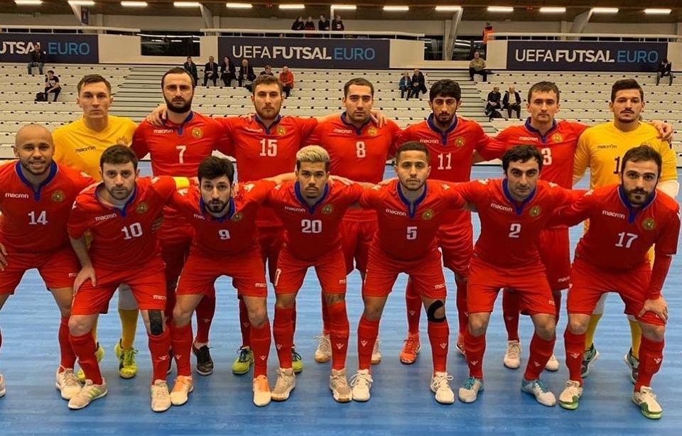 Ֆուտզալ. Եվրո-2022. Հայաստանի հավաքականը մոտ է փլեյ-օֆֆ դուրս գալուն