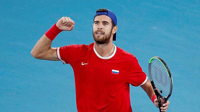 Australian Open. Խաչանովը 4 սեթում հաղթել է աշխարհի 196-րդ ռակետին