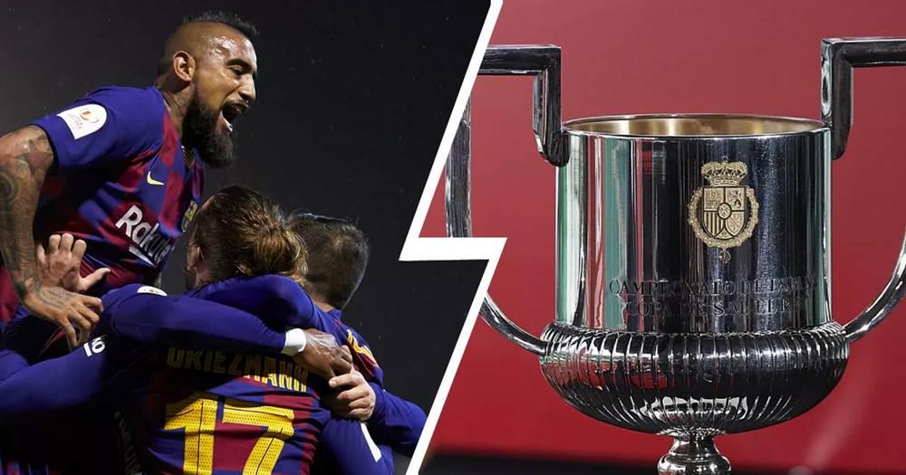 Իսպանիայի գավաթ․ Ռեալը և Բարսելոնան իմացան իրենց մրցակիցներին