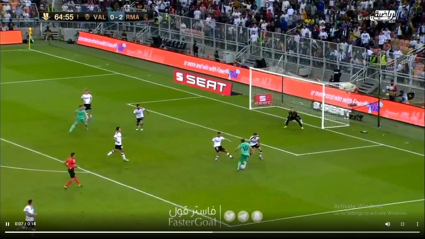 Շքեղությու՛ն․ Մոդրիչի հանճարեղ գոլը Վալենսիայի դեմ խաղում (տեսանյութ)