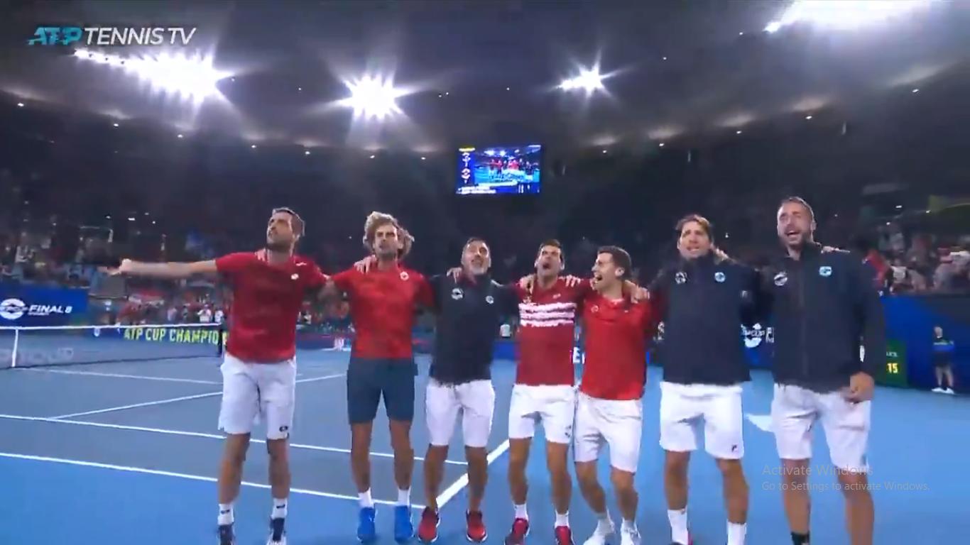 Սերբիայի հավաքականը՝ ATP Cup-2020-ի չեմպիոն