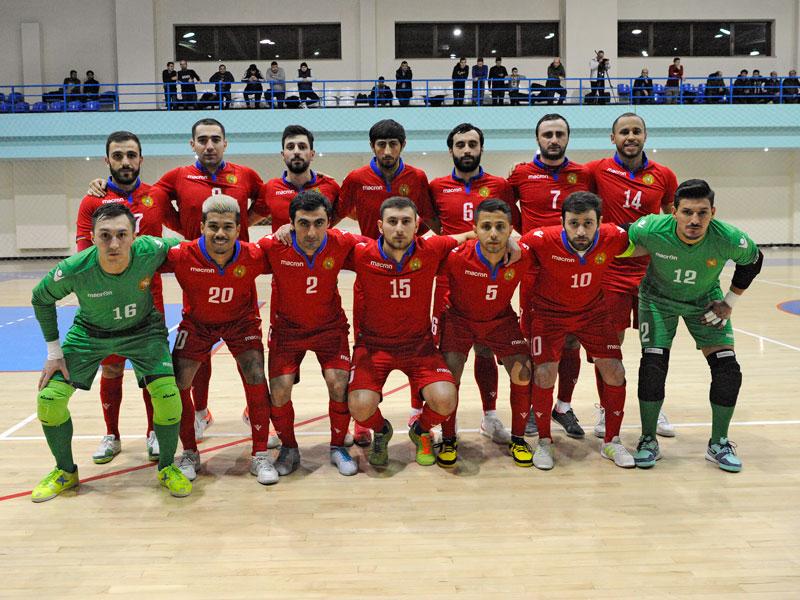 Ֆուտզալ. Հայաստանը հաղթեց Մոլդովային