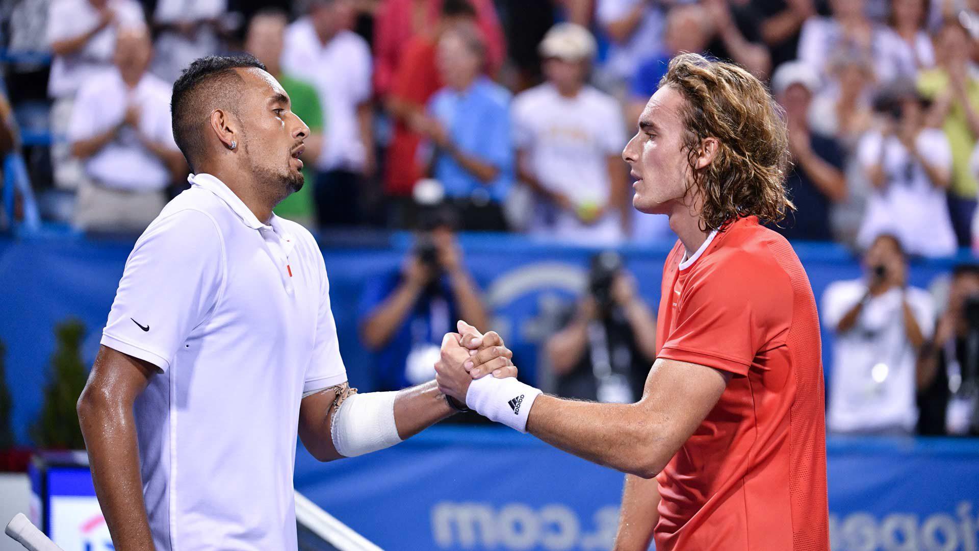 ATP գավաթ. Ցիցիպաս-Կիրիոս գերհավասար պայքարում հաղթեց ավստրալացին