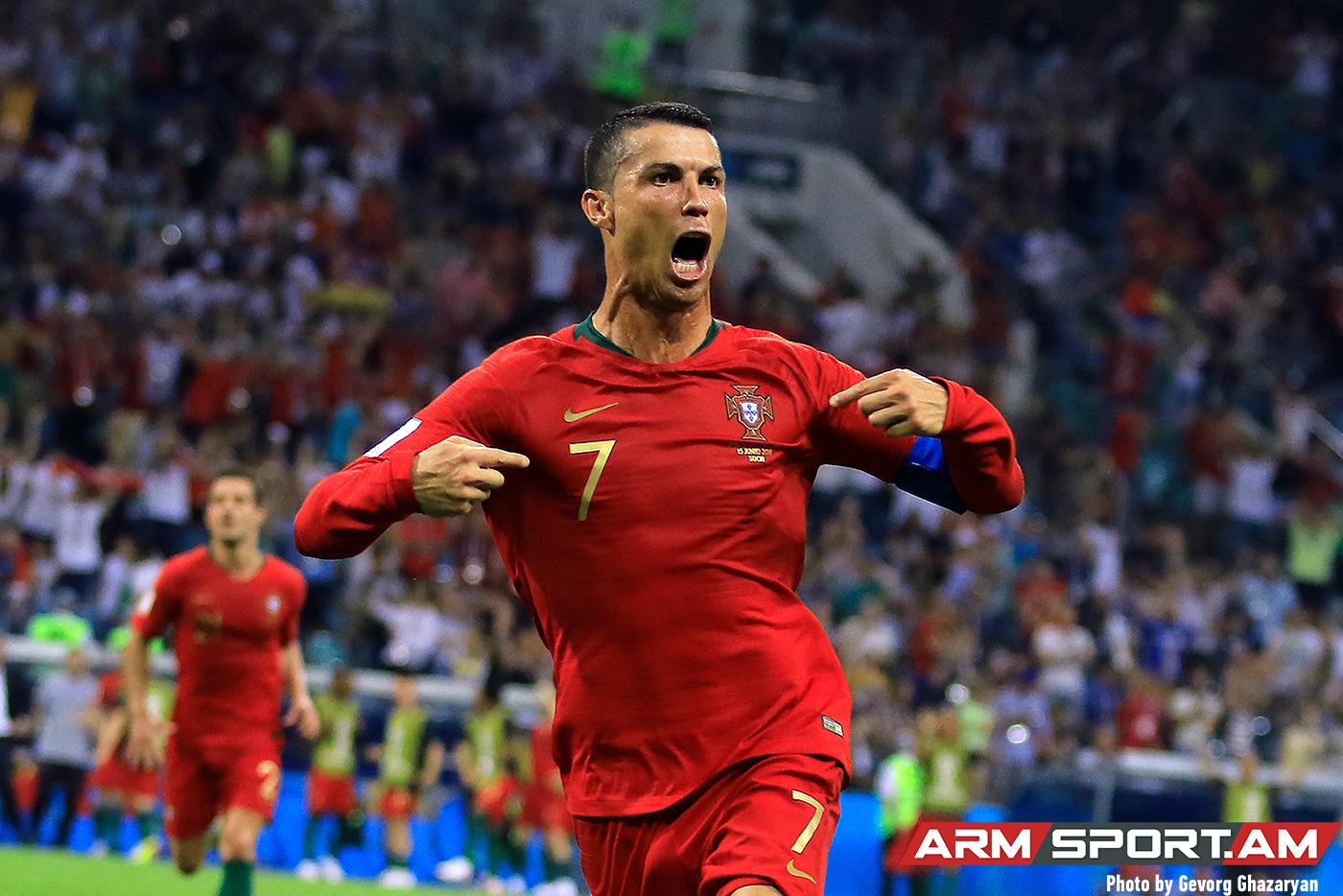 Կրիշտիանու Ռոնալդու՝ 35․ Աշխարհի լավագույն ֆուտբոլիստներից մեկը Armsport-ի լուսանկարներում