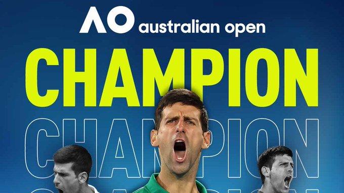 Ջոկովիչը հաղթեց Տիմին ու 8-րդ անգամ դարձավ Australian Open-ի չեմպիոն