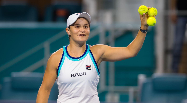 WTA․ Բարտին շարունակում է գլխավոր կանանց թենիսի վարկանշային աղյուսակը