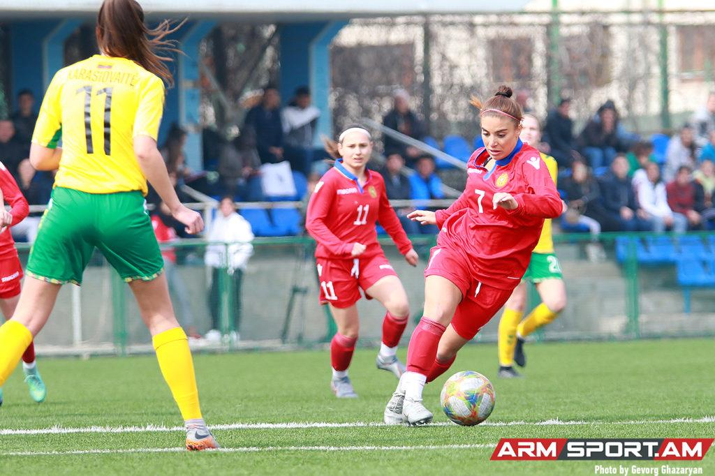 Հայտնի է ֆուտբոլի կանանց Հայաստանի ազգային հավաքականի զբաղեցրած դիրքը ՖԻՖԱ-ի վարկանիշային աղյուսակում