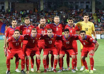 UEFA EURO 2020 qualifying match between Armenia and Liechtenstein at the Vazgen Sargsyan Republican Stadium of Yerevan, Armenia