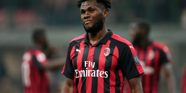 STADIO GIUSEPPE MEAZZA, MILANO, ITALY - 2018/12/29: Franck Kessie of Ac Milan   during the Serie A football match between AC Milan and Spal  . Ac Milan wins 2-1 over Spal. (Photo by Marco Canoniero/LightRocket via Getty Images)