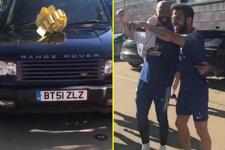 Ֆաբրեգասը պատմել է, թե ինչպես է պարտվել գրազը Կաբալյերոյին և նրան նվիրել Range Rover