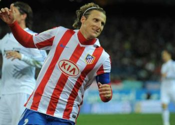 <> at Vicente Calderon Stadium on January 20, 2011 in Madrid, Spain.