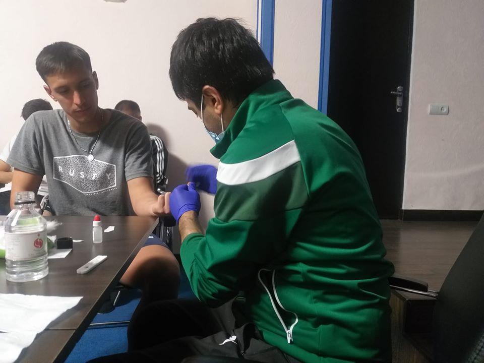 Լոռիի ֆուտբոլիստները COVID-19-ի թեստեր են հանձնել