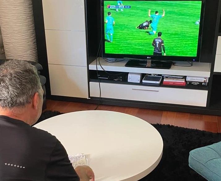 Խոակին Կապառոսը Սևիլիայից հետևում է Շիրակ-Լոռի խաղին