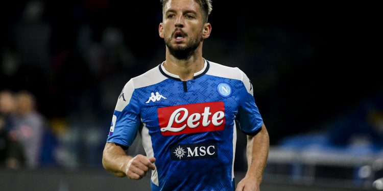 SIPA USA via PA Images   Dries Mertens belgium striker ssc napoli during the Serie A football match SSC Napoli vs Genoa CFC on November 9, 2019 at the San Paolo Stadium in Naples, Italy. (Photo by Antonio Balasco/Pacific Press/Sipa USA)
